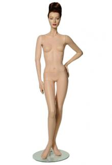 "Vintage mannequin for sale near me C5 with ""Lorna"" head - Female, Standing Mannequin Body"