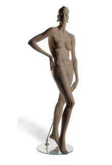 H40 with Leslie S Two head - Female, Standing Mannequin Body