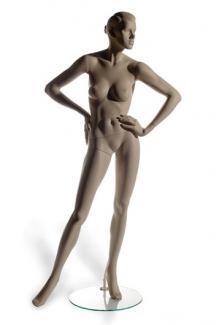 H60 with Tess S Two head - Female, Standing Mannequin Body