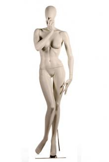 HC5 with Egg Head - Female, Standing Mannequin Body