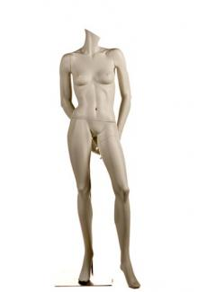 HC7 Headless - Female, Standing Mannequin Body, Front View