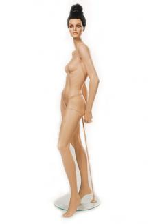"Realistic female mannequin for sale HC7 with ""Susan"" Head - Female, Standing Mannequin Body"