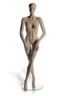 HC8 with Paula S Two head - Female, Standing Mannequin Body