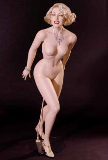 Marilyn Monroe Mannequin for sale from Decter Mannequins 2 - Female, Standing Mannequin Body