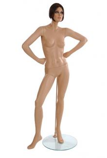 ND7 with Jill Head - Female, Standing Mannequin Body