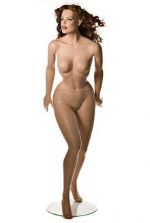 "Sin 1 with ""Angelica"" head - Female, Standing Mannequin Body"