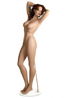 "Sin 2 with ""Angelica"" head - Female, Standing Mannequin Body"