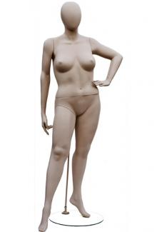 W557-1 with Atelier Head - Female, Standing Mannequin Body