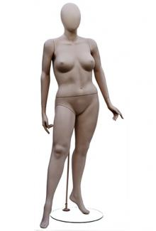 W557-2 with Atelier Head - Female, Standing Mannequin Body