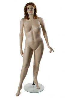 W557-2 with Olivia Head - Female, Standing Mannequin Body