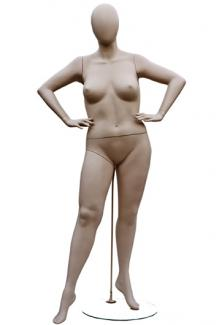 W557-3 with Atelier Head - Female, Standing Mannequin Body