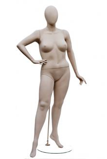 W557-4 with Atelier Head - Female, Standing Mannequin Body