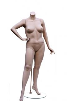W557-4 Headless - Female, Standing Mannequin Body