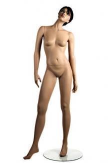 X1 with Che head - Female, Standing Mannequin Body