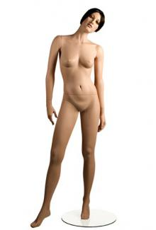 X1 with Michal head - Female, Standing Mannequin Body