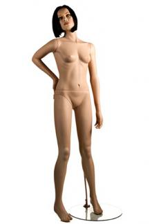 X3 with Tess head - Female, Standing Mannequin Body