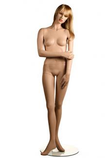 YA1 with Tess head - Female, Standing Mannequin Body