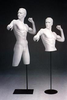 Baseball DSF26 - Male, 3/4 Mannequin Forms