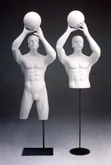 Basketball DSF22 - Male, 3/4 Mannequin Forms