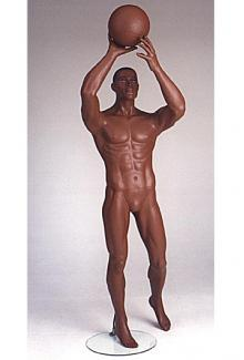 Basketball player mannequin - Male, Standing Mannequin Body