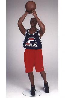 Basketball player 3 - Male, Standing Mannequin Body