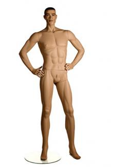 Patina V male mannequins for sale PRI1 with Karim head - Male, Standing Mannequin Body