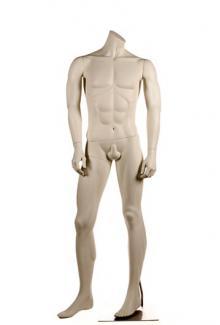 PRI5 Headless - Male, Standing Mannequin Body