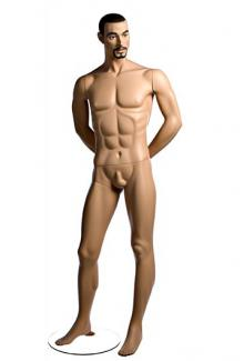 Realistic male mannequins for sale PRI6 with Stephen head - Male, Standing Mannequin Body