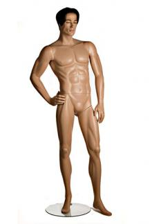 Six6 Two with Josh Realistic Head - Male, Standing Mannequin Body