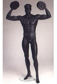 Weightlifter 2 - Male, Standing Mannequin Body