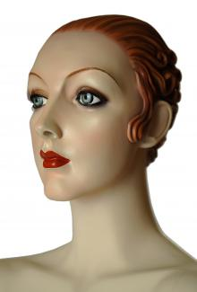 """""""Josephine"""" - Female, Mannequin Head"""