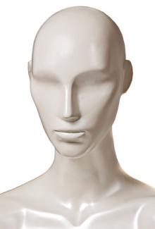 Pearl Gloss Finish - Female, Mannequin Head