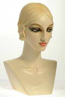 AN12D - Female,  Mannequin Head