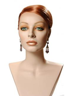 Lorenna Cameo - Female,  Mannequin Head