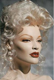 """Louise"" - Female, Mannequin Head"