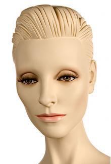 """Mary SE Shown with """"Nocturne"""" make-up - Female,  Mannequin Heads"""