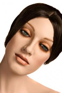 Michal - Mannequin Head, Female