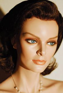 """Susan"" - Female, Mannequin Head"