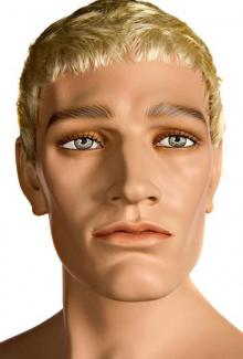 Brian - Mannequin Head, Male