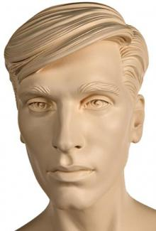 Carey S Two Abstract - Mannequin Head, Male