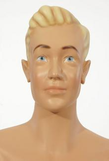 Henry - Male,  Mannequin Head