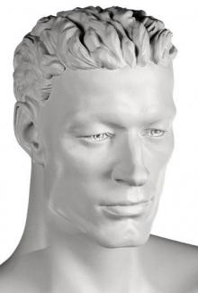 Josh Abstract - Mannequin Head, Male
