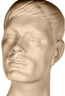 JR S - Mannequin Head, Male