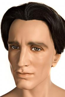 Kane Realistic - Mannequin Head, Male