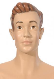 Ronnie - Male,  Mannequin Head