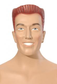 Wesley - Male,  Mannequin Head