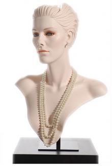 DMJ183/SimoneS - Female,  Mannequin Head