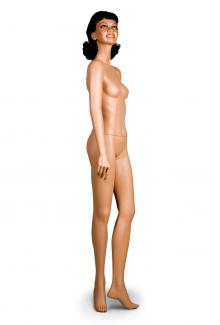 C11 with Renee Head - Female, Standing Mannequin Body, Madera Finish