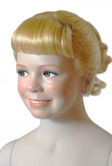 G61 Six Year Old Girl Head