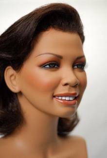 Renne Portrait - Female, Standing Mannequin Body